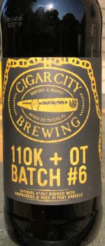 110k+ OT Batch #6 - Cigar City Brewing