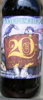 20th Anniversary Ale - Weyerbacher Brewing Company