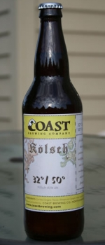 32/50 Kolsch - COAST Brewing Company
