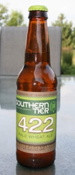 422 Pale Wheat Ale - Southern Tier Brewing Company