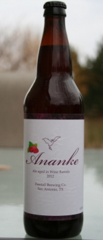 Ananke (Raspberry) - Freetail Brewing Company