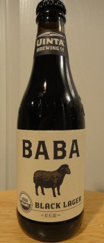 Baba Black Lager - Uinta Brewing Company