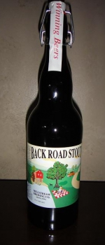 Back Road Stout - Millstream Brewing Company