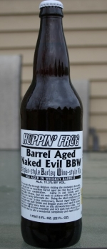 Barrel Aged Naked Evil BBW - Hoppin' Frog Brewery