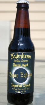 Barrel Aged Solar Eclipse - Kuhnhenn Brewing Company