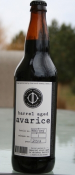 Barrel Series No. 7 - Avarice - River North Brewery