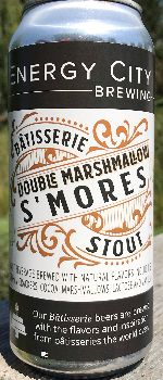 Bâtisserie Double Marshmallow S'mores Stout - Energy City Brewing