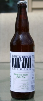 Belgian Style Pale Ale - White Birch Brewing