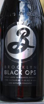 Black OPS - Brooklyn Brewery
