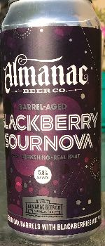 Blackberry Sournova - Almanac Beer Co.