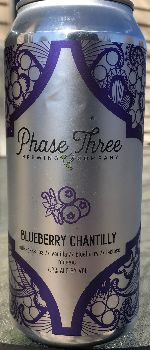 Blueberry Chantilly - Phase Three Brewing