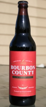 Bourbon County Brand Coffee Stout - Goose Island Beer Co.