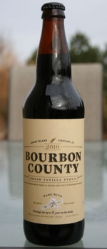 Bourbon County Brand Vanilla Stout - Goose Island Beer Co.