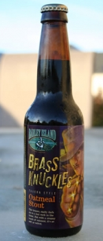 Brass Knuckles Oatmeal Stout - Barley Island Brewing Company