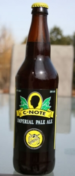 C-Note Imperial Pale Ale - New Old Lompoc Brewery
