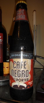 Café Negro Coffee Infused Porter - BridgePort Brewing Co.
