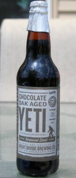 Chocolate Oak Aged Yeti - Great Divide Brewing Company