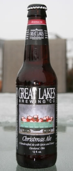 Christmas Ale - Great Lakes Brewing Company - Two Beer Dudes