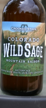 Colorado Wild Sage Mountain Saison - Crooked Stave Artisan Beer Project