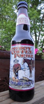Cowboy Coffee Porter - Big Sky Brewing Company