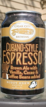 Cubano-Style Espresso - Cigar City Brewing