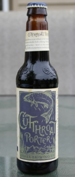 Cutthroat Porter - Odell Brewing Company