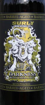 Darkness Barrel Aged - Surly Brewing Company