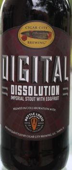 Digital Dissolution - Cigar City Brewing