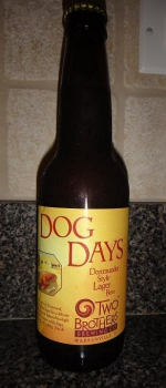 Dog Days Dortmunder Style Lager - Two Brothers Brewing Company
