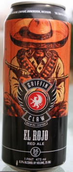 El Rojo Red Ale - Griffin Claw Brewing Company