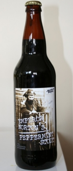 Emperor Norton's Peppermint Stout - Manchester Brewery LLC