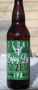 Enjoy By IPA - Stone Brewing Company