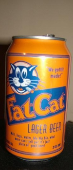 Fat Cat Lager - The Fat Cat Beer Company