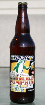 Frog's Hollow Double Pumpkin Ale - Hoppin' Frog Brewery
