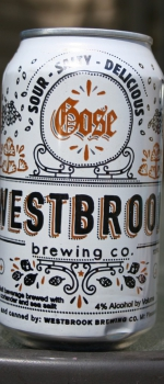 Gose - Westbrook Brewing Company