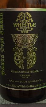 Guava Gose Smack - Noon Whistle Brewing