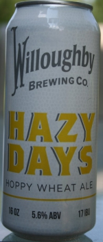 Hazy Days - Willoughby Brewing Company