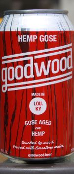 Hemp Gose - Goodwood Brewing Company