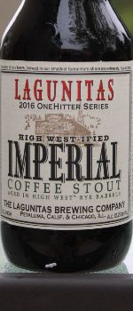 High West-ified Imperial Coffee Stout - Lagunitas Brewing Company