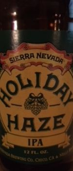 Holiday Haze - Sierra Nevada Brewing Co.