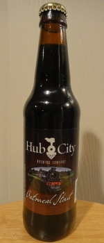 Hub City Oatmeal Stout - Hub City Brewing Company