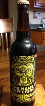 In The Name Of Suffering - Three Floyds Brewing Company
