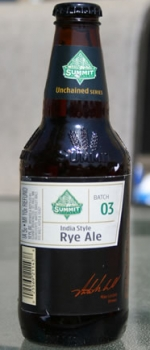India Style Rye Ale - Summit Brewing Company