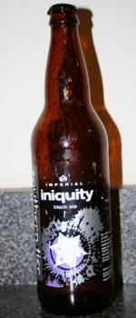 Iniquity Imperial Black Ale - Southern Tier Brewing Company