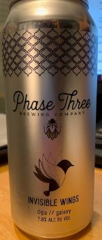Invisible Wings - Phase Three Brewing