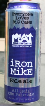 Iron Mike Pale Ale - Moat Mountain Brewing Company