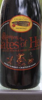 Kalevipoeg At The Gates Of Hell - Cigar City Brewing