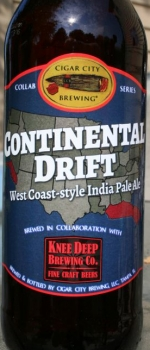 Knee Deep Collaboration: Continental Drift - Cigar City Brewing