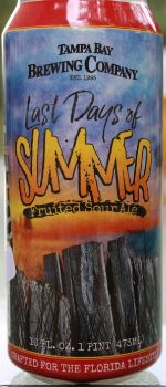 Last Days of Summer - Tampa Bay Brewing Company