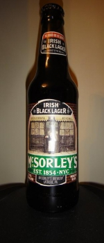 McSorley's Irish Black Lager - Pabst Brewing Company